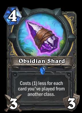 Obsidian Shard Card Image