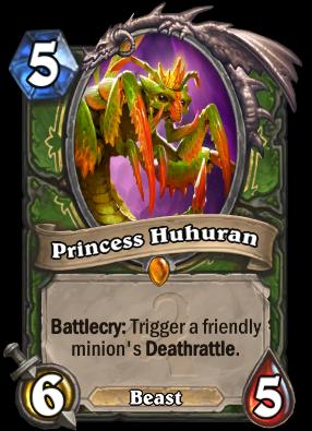 Princess Huhuran Card Image