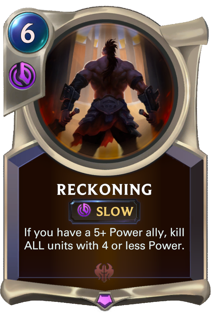 Reckoning Card Image