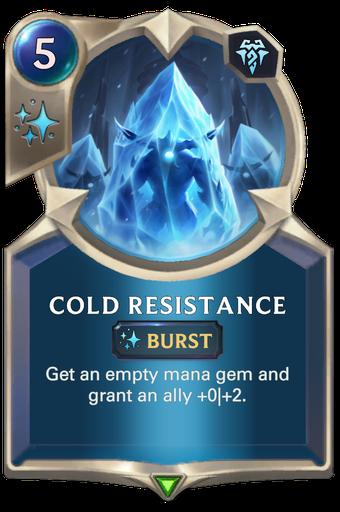 Cold Resistance Card Image