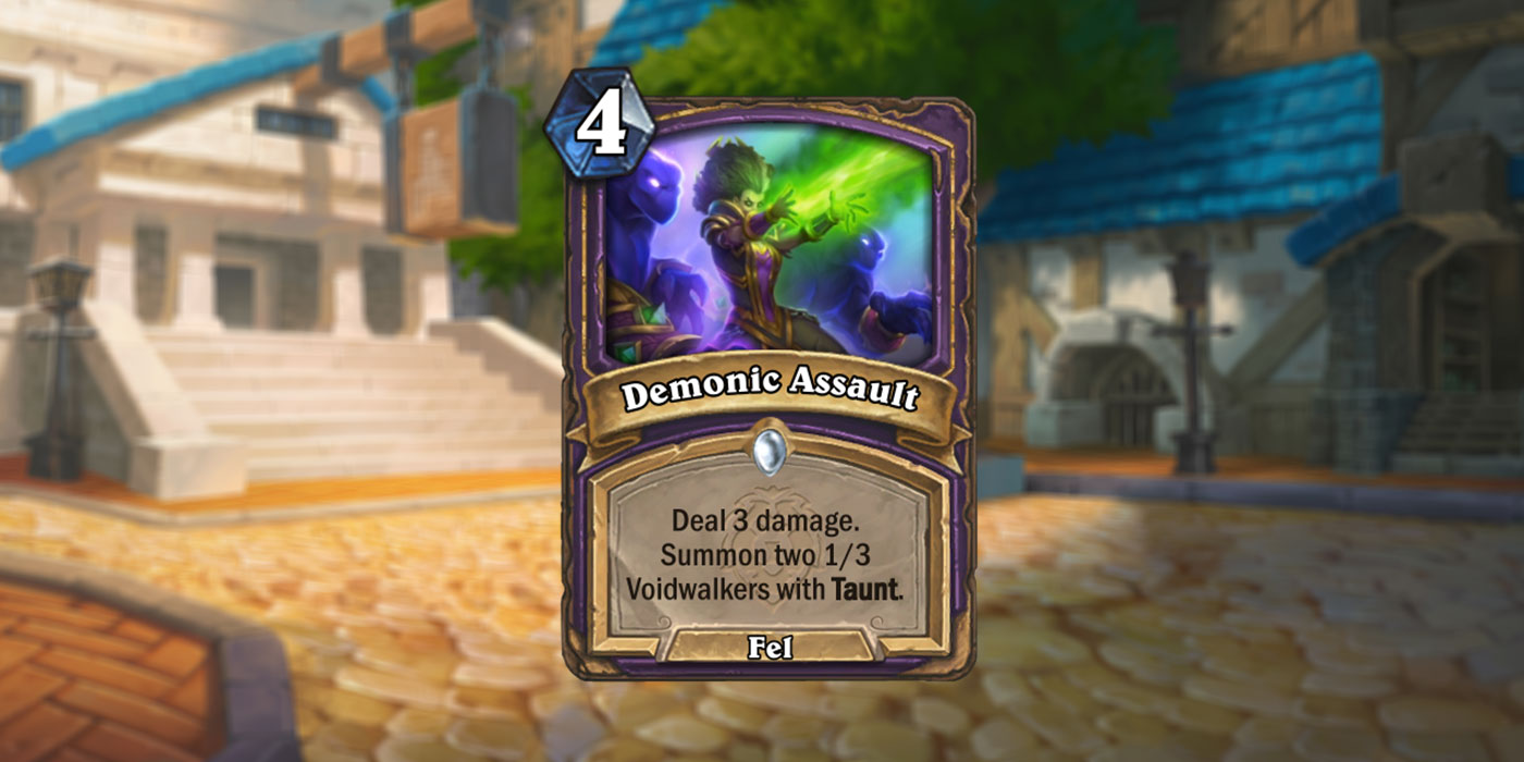 A New Warlock Spell for United in Stormwind has Been Revealed by Nethbloglive - Demonic Assault!