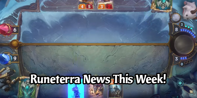 We're Getting an Update this Week on Legends of Runeterra