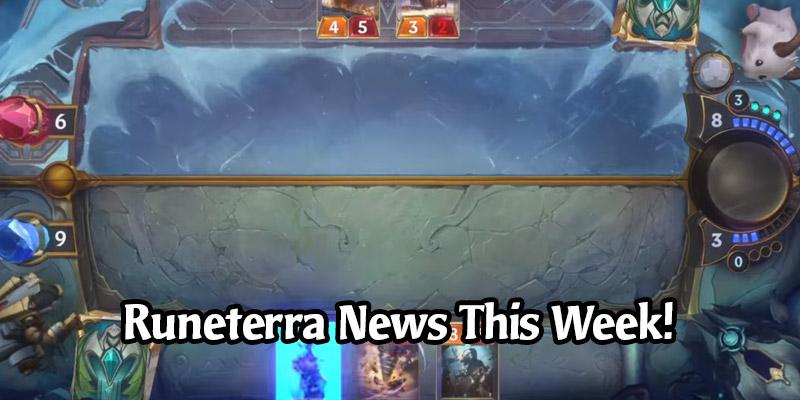 We're Getting an Update this Week on Legends of Runeterra