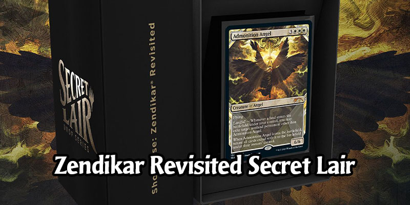 Secret Lair Returns Today with an Avenger of Zendikar Showcase Sleeve in MTG Arena - Zendikar Revisited Drop