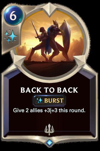 Back to Back Card Image