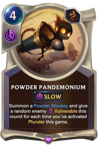 Powder Pandemonium Card Image