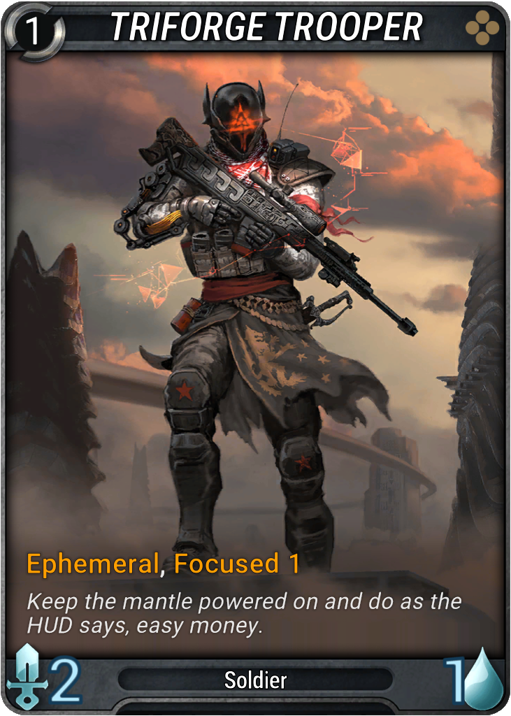Triforge Trooper Card Image