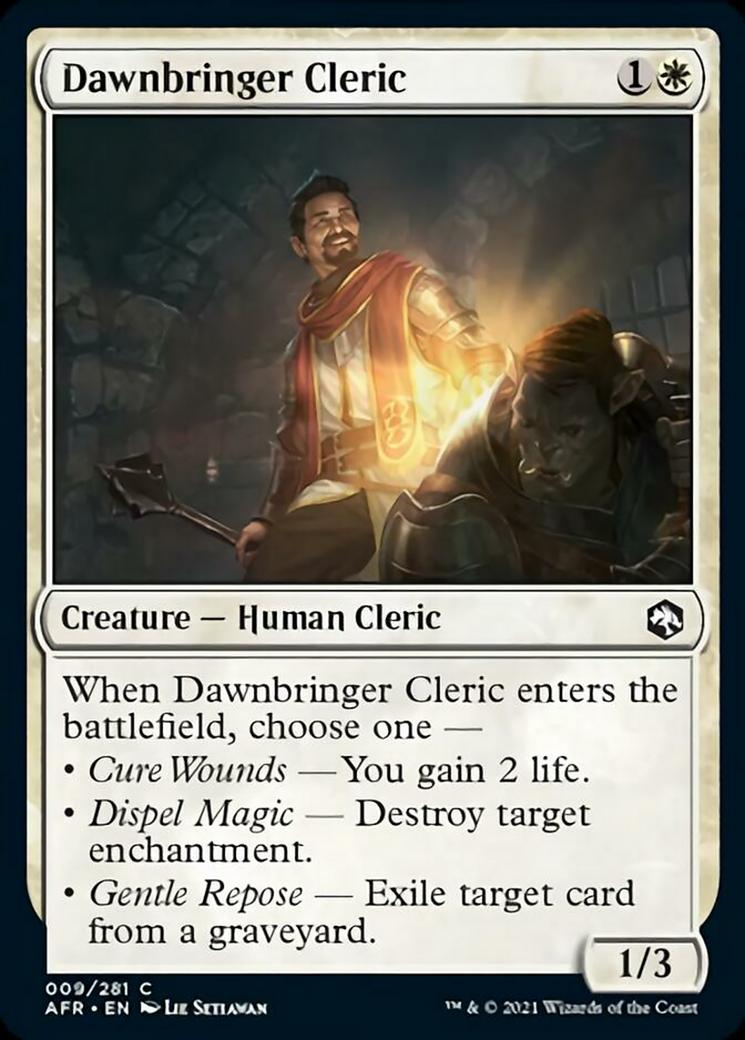 Dawnbringer Cleric Card Image