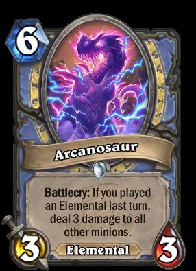 Arcanosaur Card Image