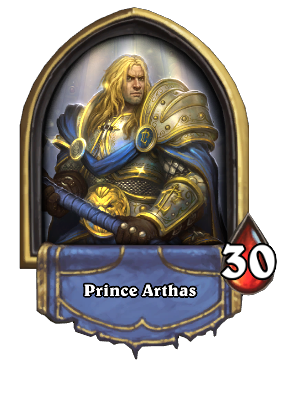 Prince Arthas Card Image