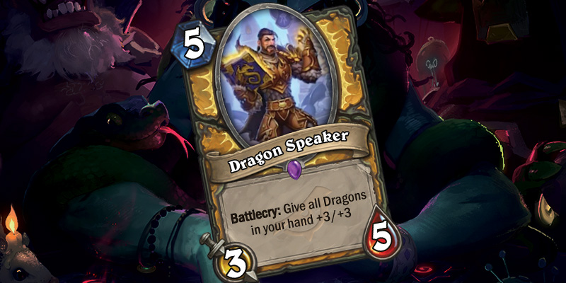 New Paladin Card - Dragon Speaker & Bronze Herald