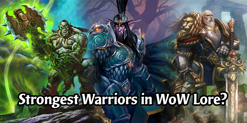 7 Famous Warriors from World of Warcraft Who Deserve to Be Hearthstone Cards