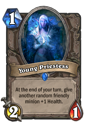 Young Priestess Card Image