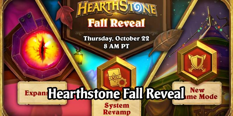 The Hearthstone Fall Reveal - New Expansion, Game Mode, Systems, and More! Live Recap