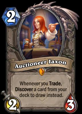 Auctioneer Jaxon Card Image