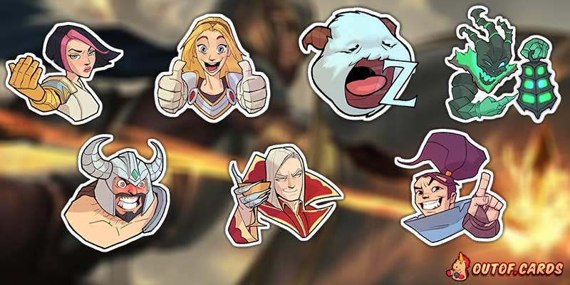 Unreleased & Datamined Emotes for Legends of Runeterra