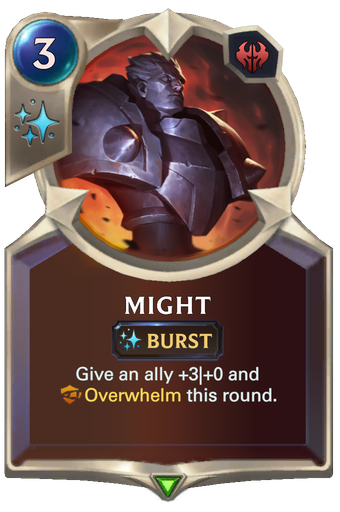 Might Card Image