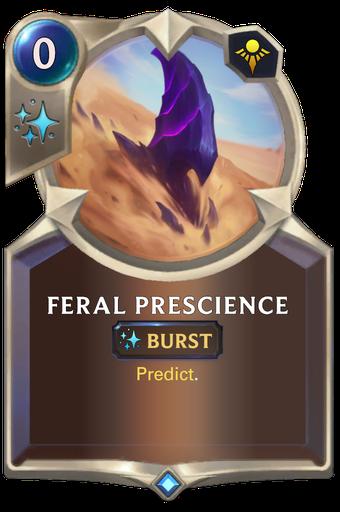 Feral Prescience Card Image