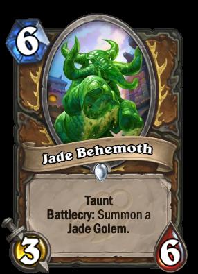 Jade Behemoth Card Image
