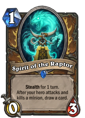Spirit of the Raptor Card Image