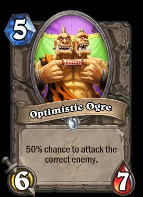 Optimistic Ogre Card Image