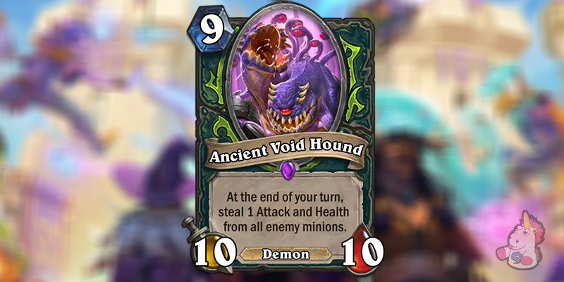 Ancient Void Hound is a New Demon Hunter Card Revealed for Hearthstone's Scholomance Academy Expansion