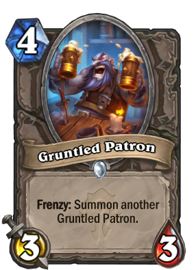 Gruntled Patron Card Image