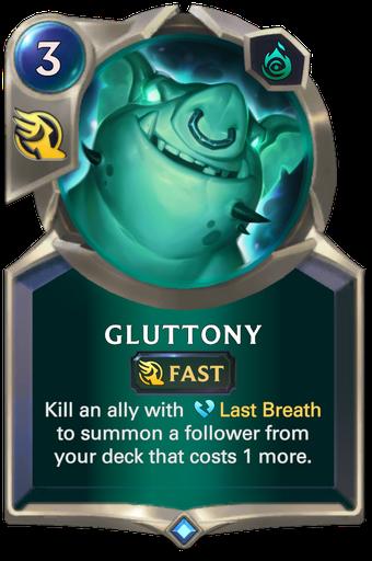 Gluttony Card Image
