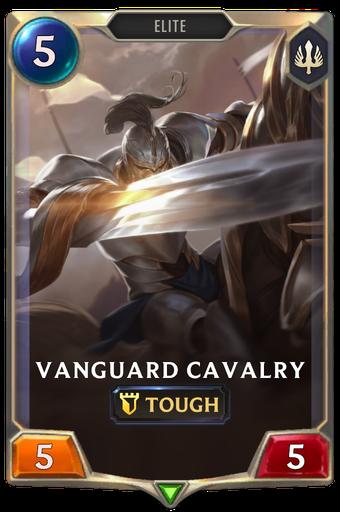 Vanguard Cavalry Card Image