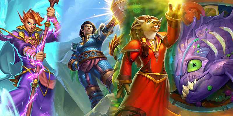 Our Thoughts on Wailing Caverns' Mage, Paladin, Priest, & Rogue Cards