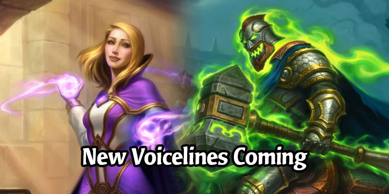 Hearthstone's Cosmetic Hero Disappointments, Scholar Jaina and Horseman Uther, Will Receive New Voicelines
