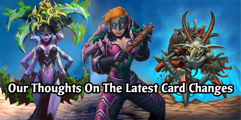 The Latest Hearthstone Nerfs and Buffs Are Here! Our Thoughts on the Card Changes