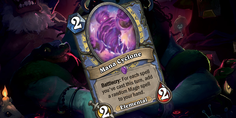 New Mage Card - Mana Cyclone