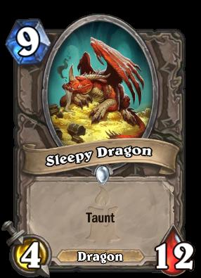 Sleepy Dragon Card Image