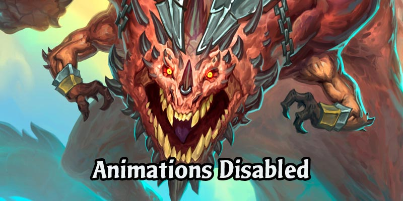 Galakrond Animations Temporarily Disabled in Descent of Dragons