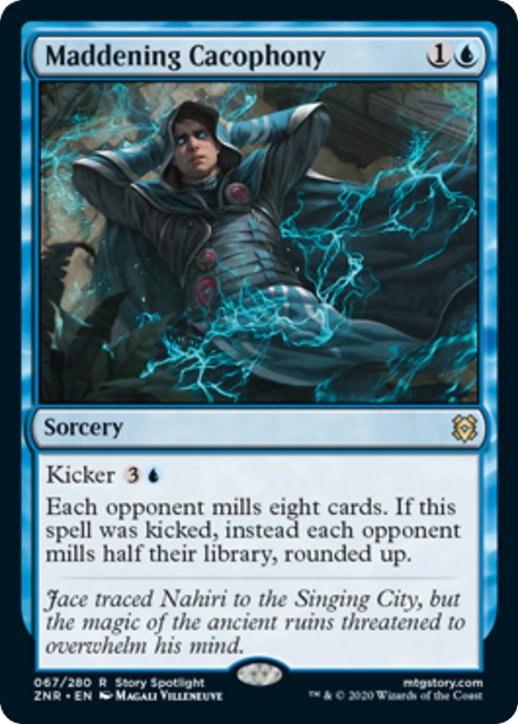 Maddening Cacophony Card Image