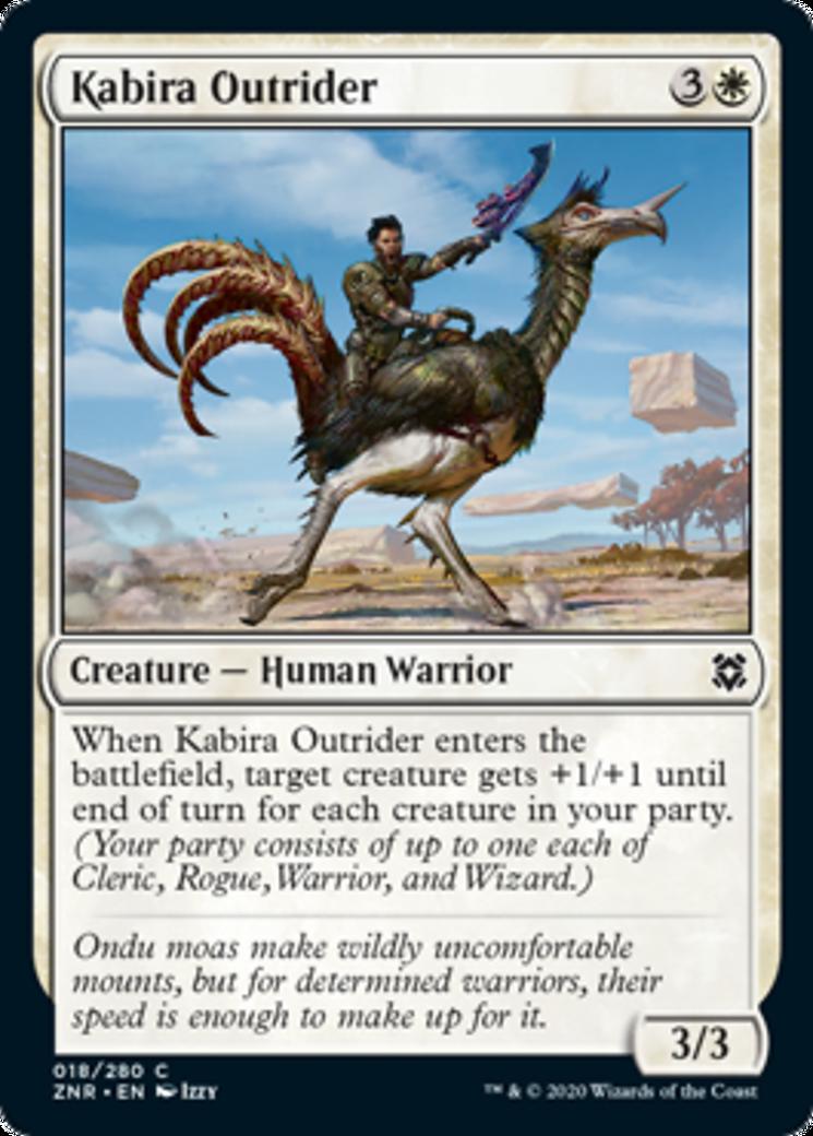 Kabira Outrider Card Image