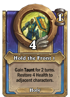 Hold the Front 1 Card Image
