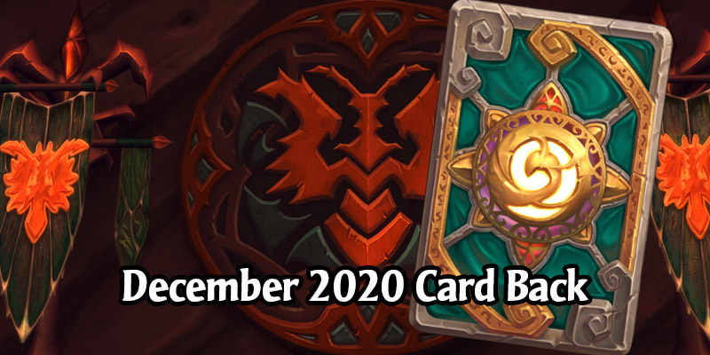 Hearthstone's December Card Back, Valorous Virtue, Has Arrived!