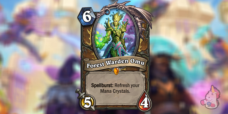 Forest Warden Omu is a New Druid Legendary Revealed for Hearthstone's Scholomance Academy Expansion