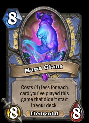 Mana Giant Card Image