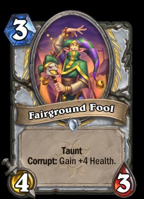 Fairground Fool Card Image