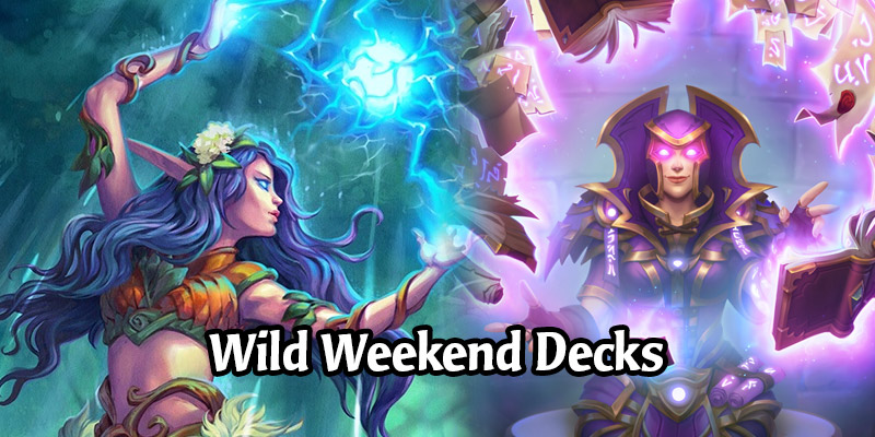 A Wild Hearthstone Weekend Featuring Even Priest, Highlander Mage, Control Shaman, and More!