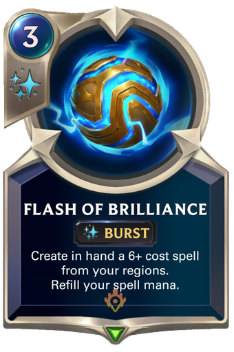 Flash of Brilliance Card Image