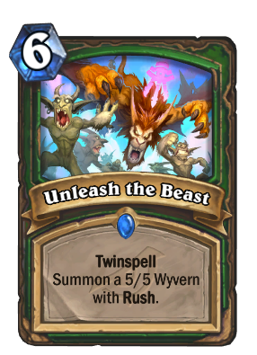 Unleash the Beast Card Image