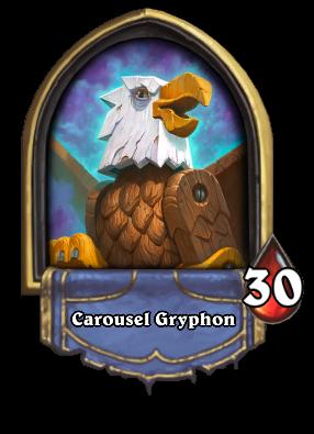 Carousel Gryphon Card Image