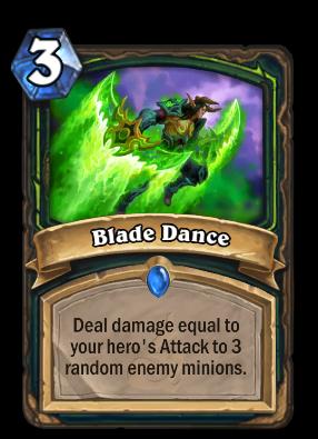 Blade Dance Card Image