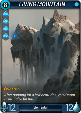 Living Mountain Card Image
