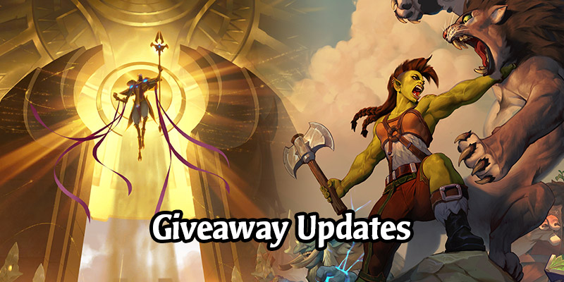 An Update on Our Runeterra & Hearthstone Giveaways