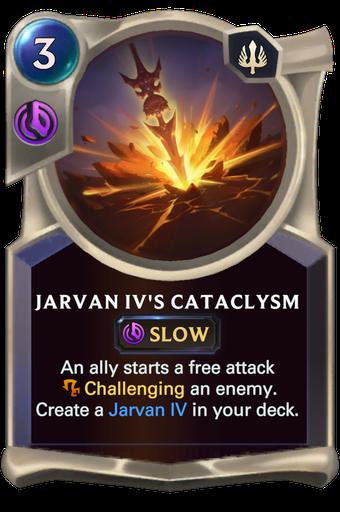 Jarvan IV's Cataclysm Card Image